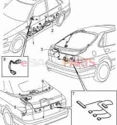 esaabparts com saab 9 3 9400 electrical parts wiring [ 1335 x 1631 Pixel ]