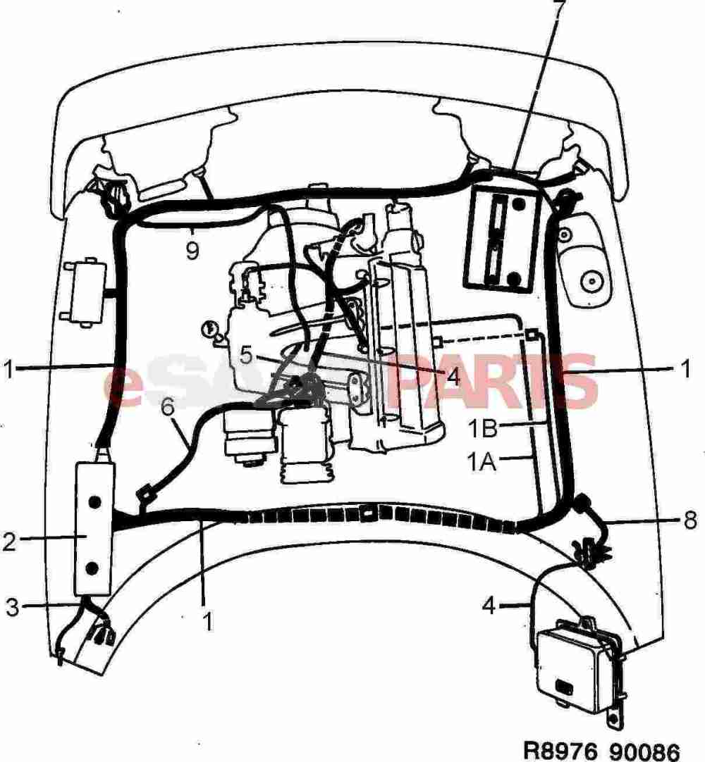medium resolution of saab wiring harness wiring diagram basic 1986 saab 900 turbo wiring harness esaabparts com saab 900