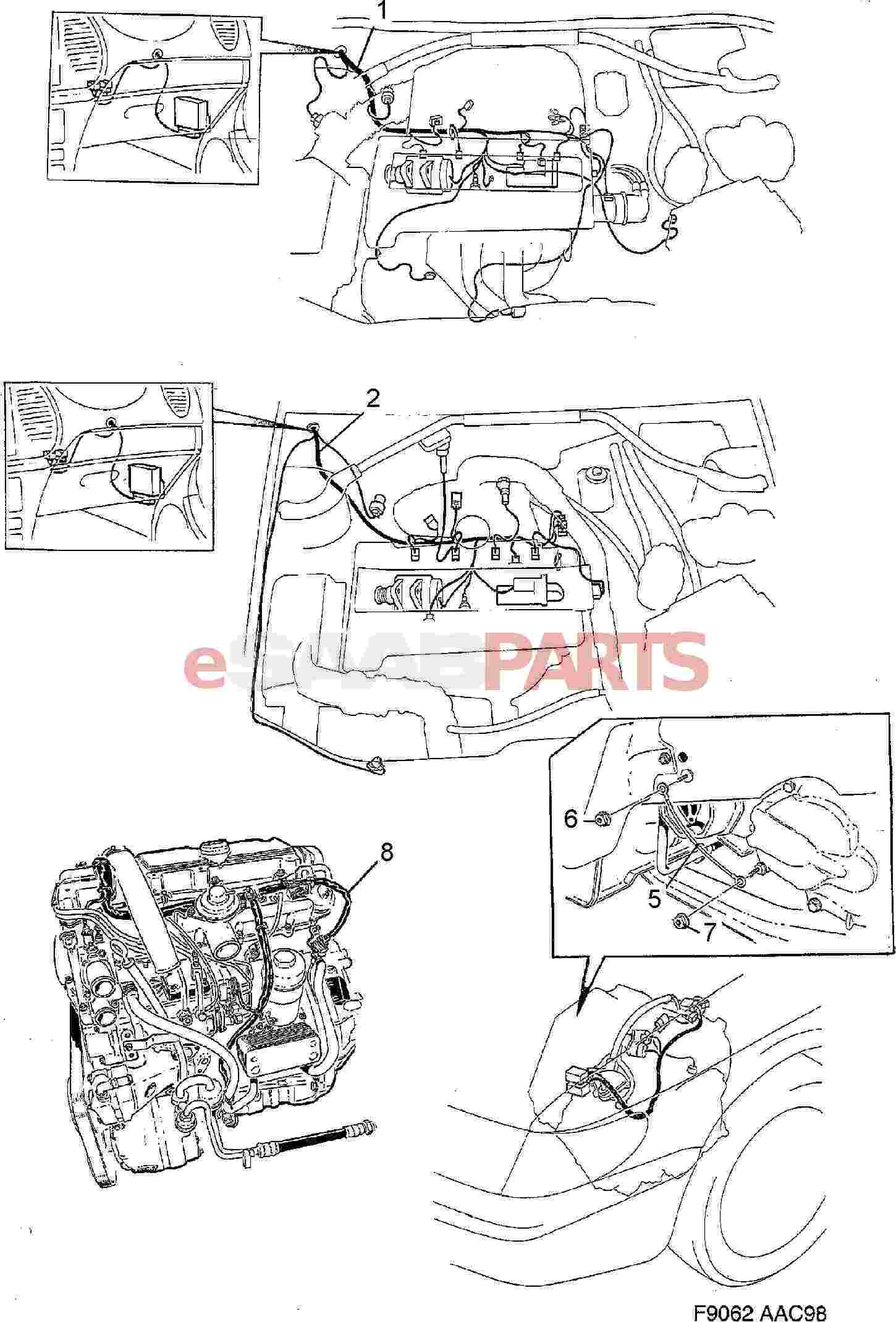 Service manual [1984 Saab 900 Engine Diagram Or Manual