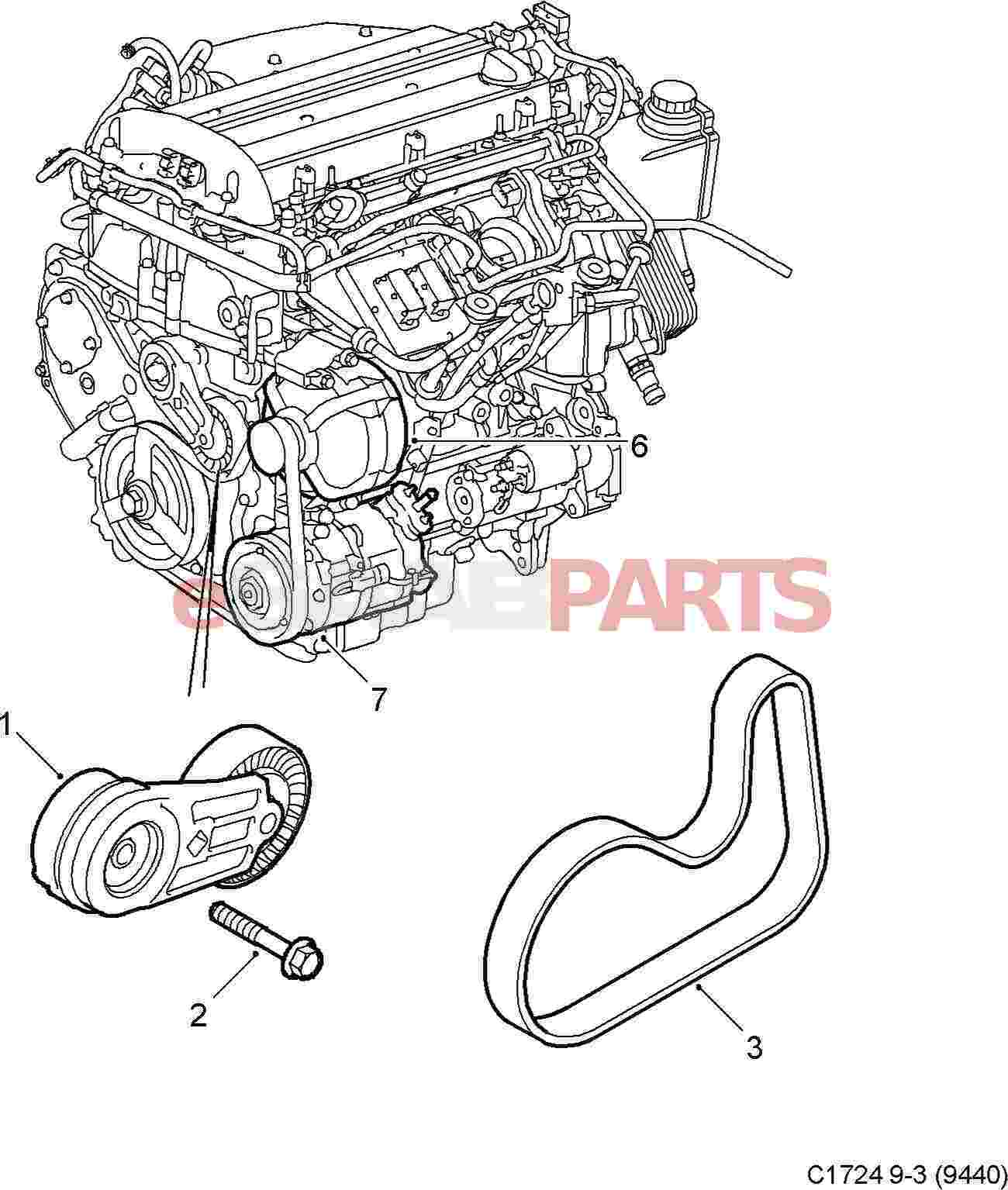 Serpentine Belt Diagram For Ls2  Auto Electrical Wiring