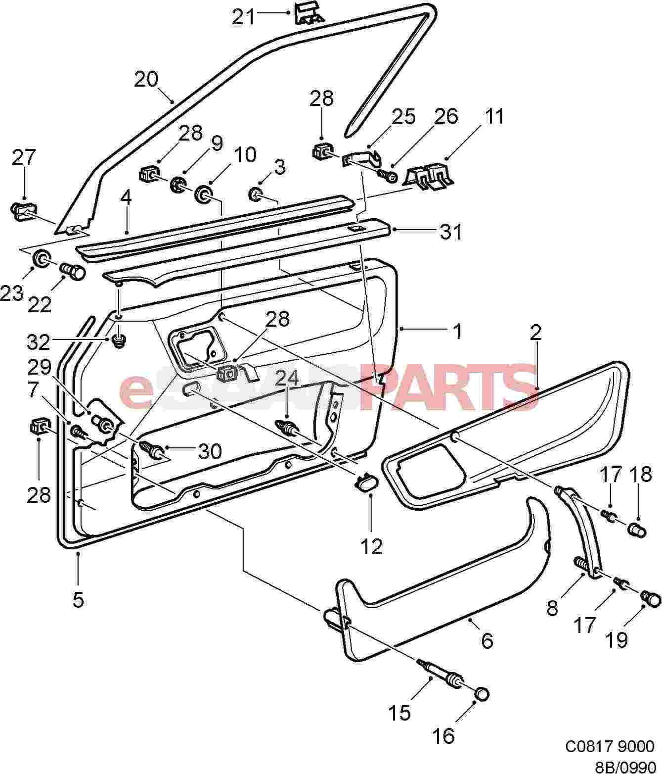 hight resolution of car door panel diagram wiring diagram compilation car door panel diagram