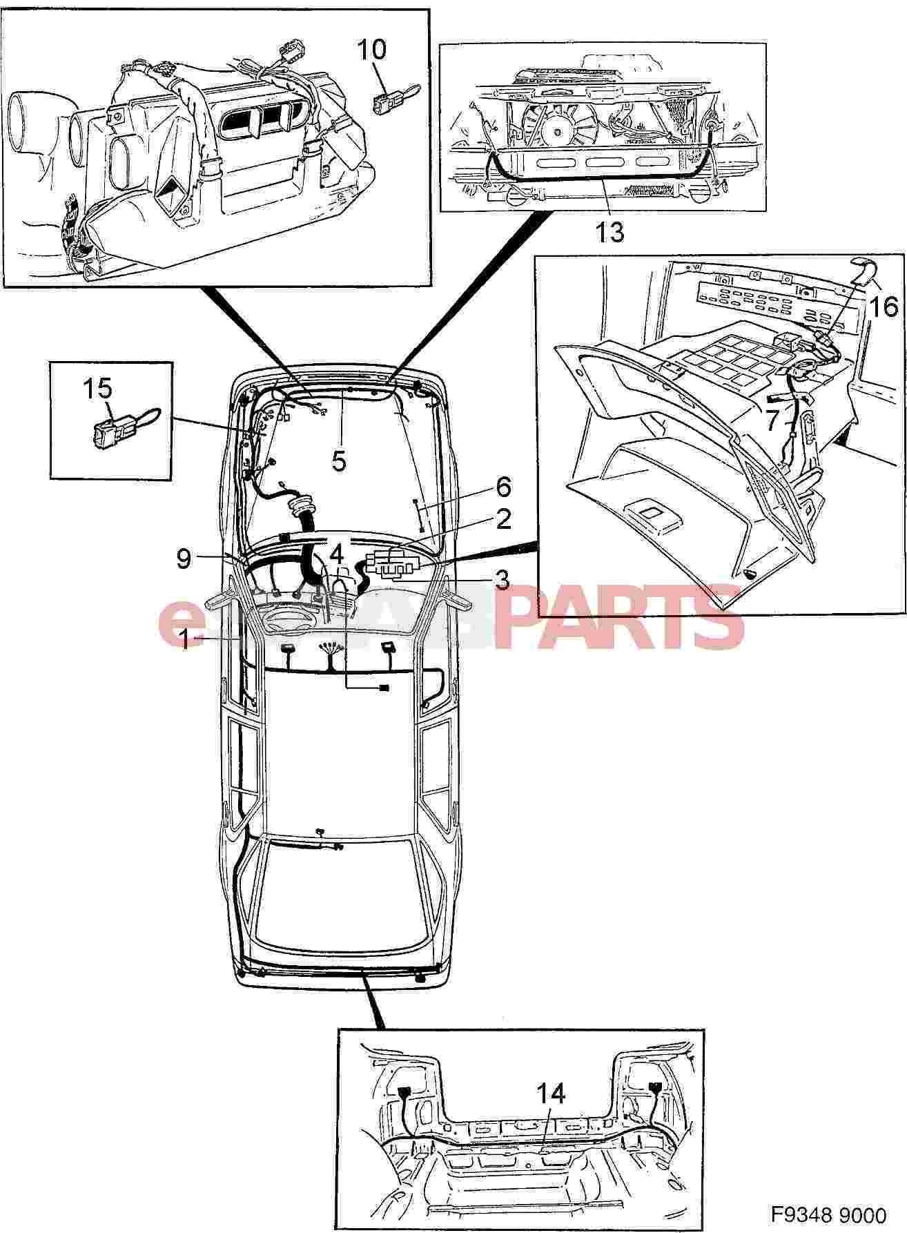 [DIAGRAM] 1989 91991 Saab 900electrical Wiring Diagram