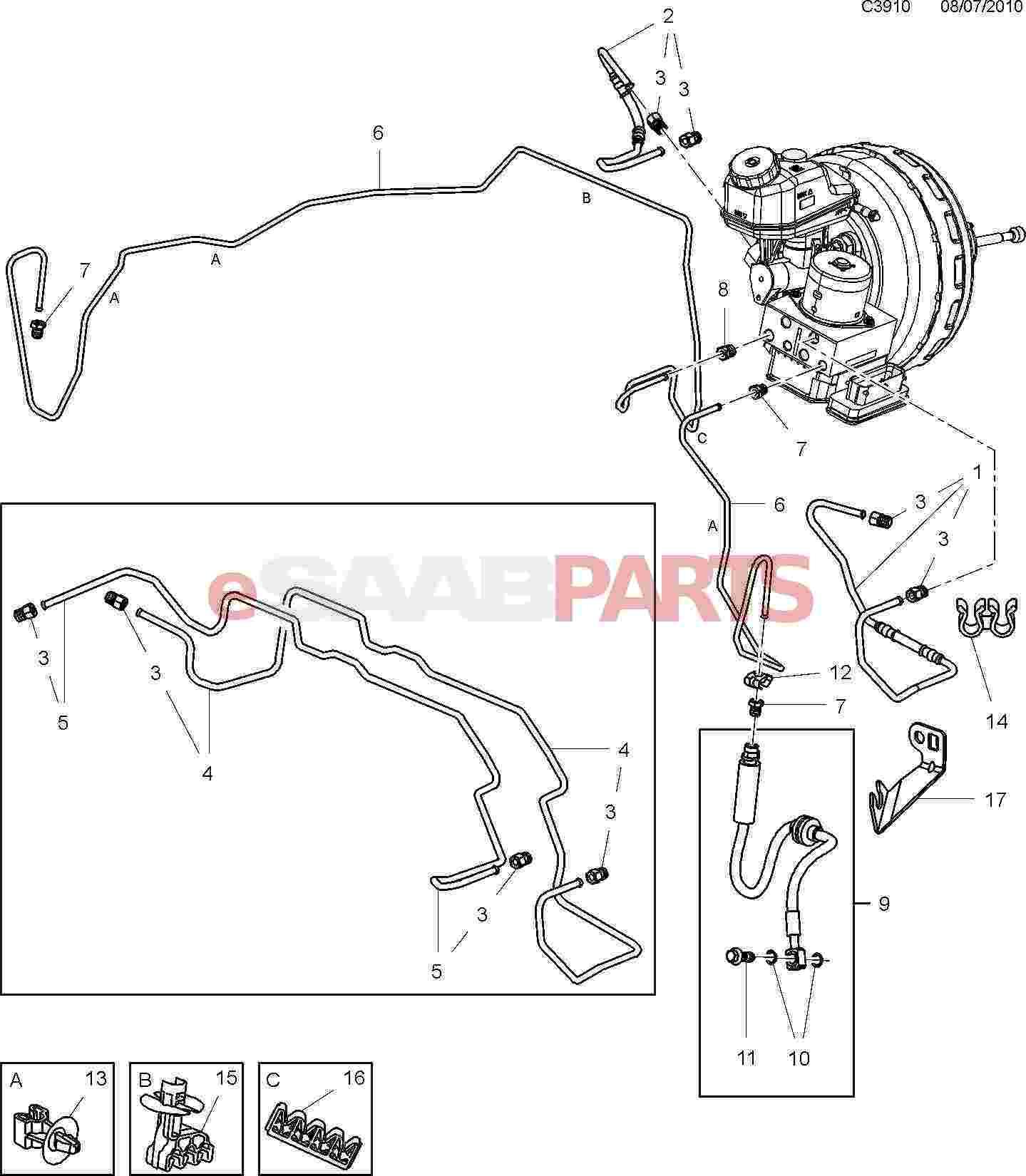 2006 saab 9 3 wiring diagram glock exploded view designs 5 rear caliper oliviadanielle co