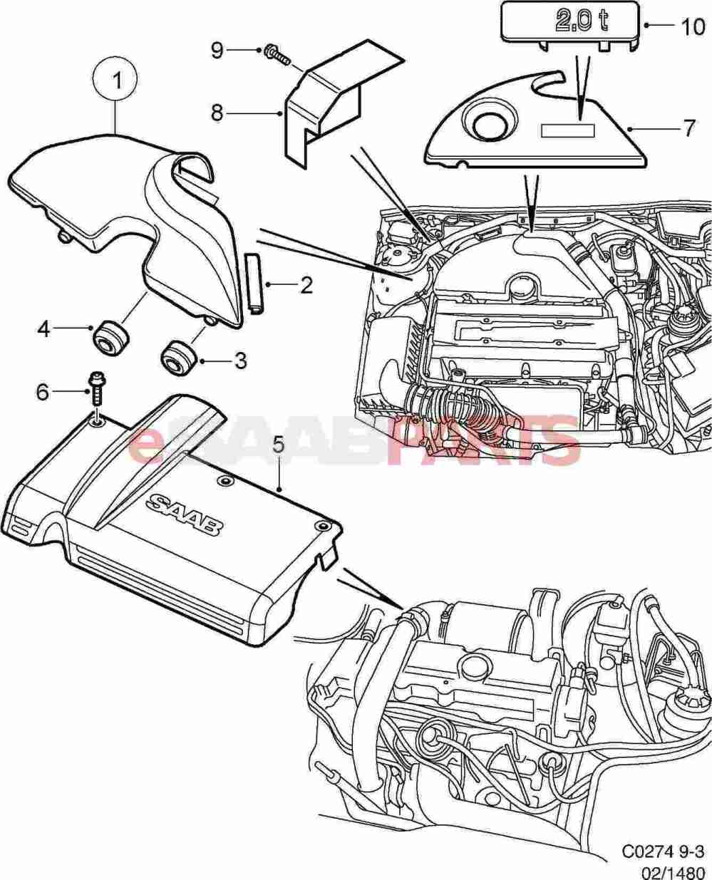 medium resolution of 2002 saab 9 3 parts diagram wiring diagram schematics rh ksefanzone com saab 9 3