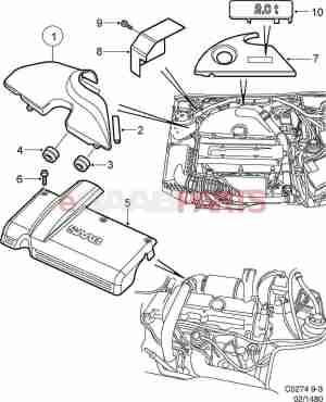 [4968343] SAAB Emblem  Genuine Saab Parts from eSaabParts