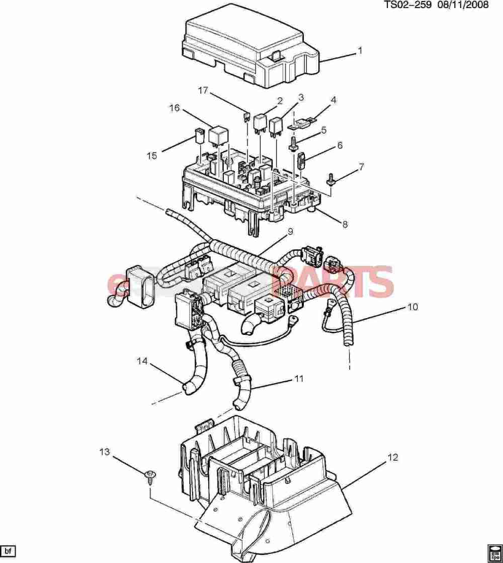 medium resolution of esaabparts com saab 9 7x electrical parts electrical relays block accessory wiring junction