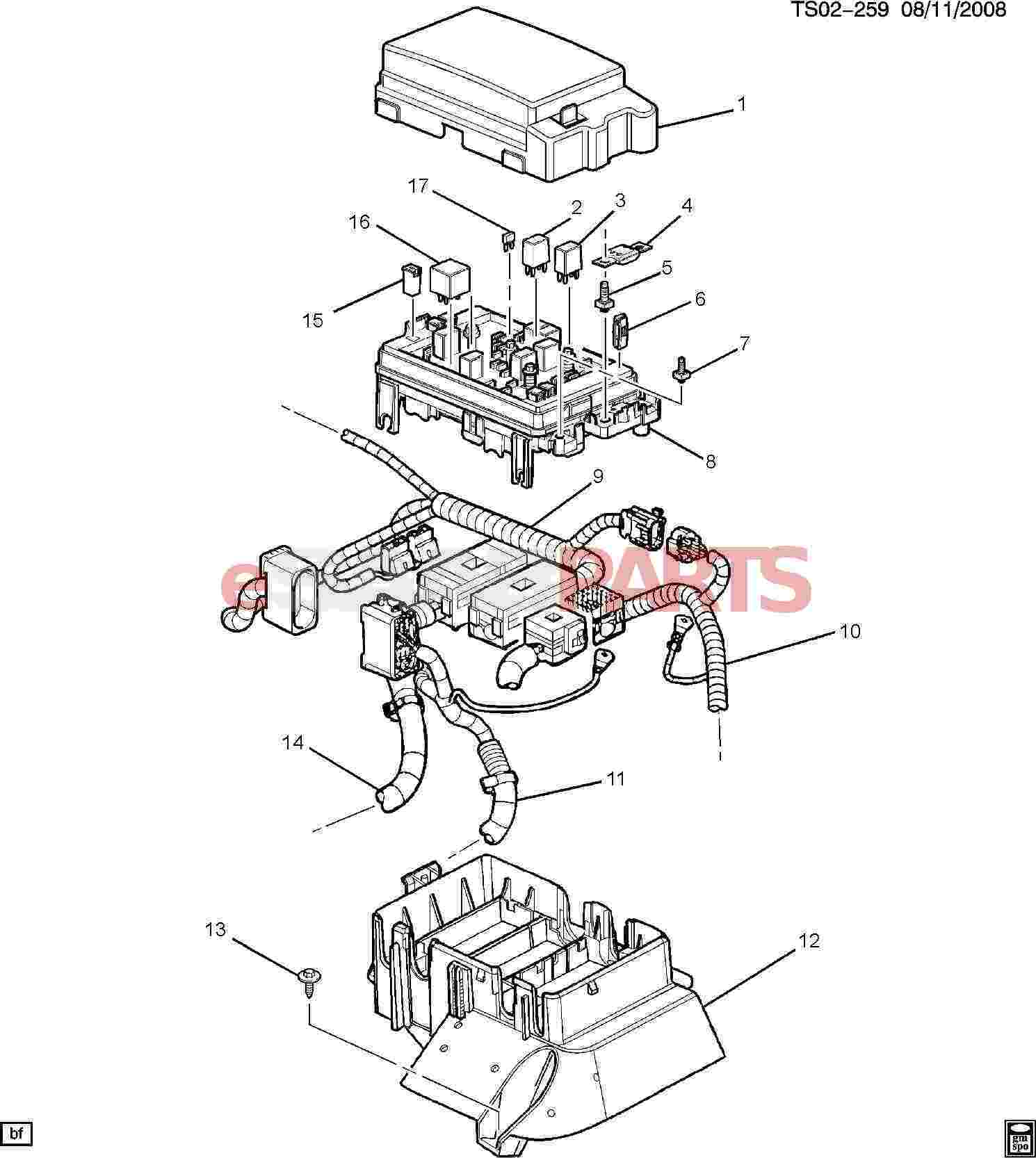 hight resolution of esaabparts com saab 9 7x electrical parts electrical relays block accessory wiring junction