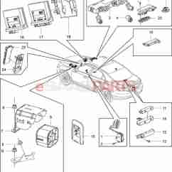 Ant Parts Diagram S Plan Plus Wiring Honeywell 13502551 Saab Antenna Genuine From