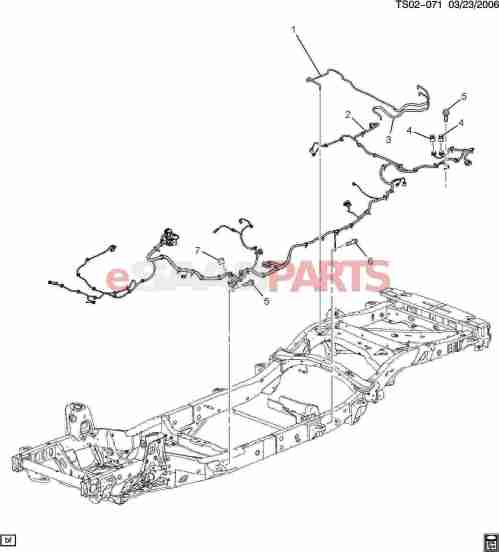 small resolution of esaabparts com saab 9 7x electrical parts wiring harness wiring harness chassis