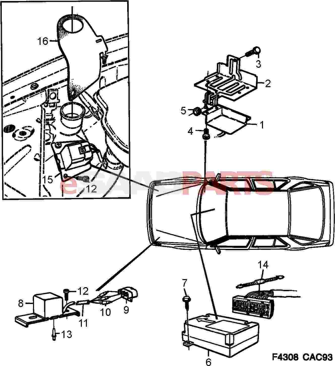hight resolution of saab 9000 fuse box location wiring librarysaab 900 roof wiring diagram wiring diagram and fuse box