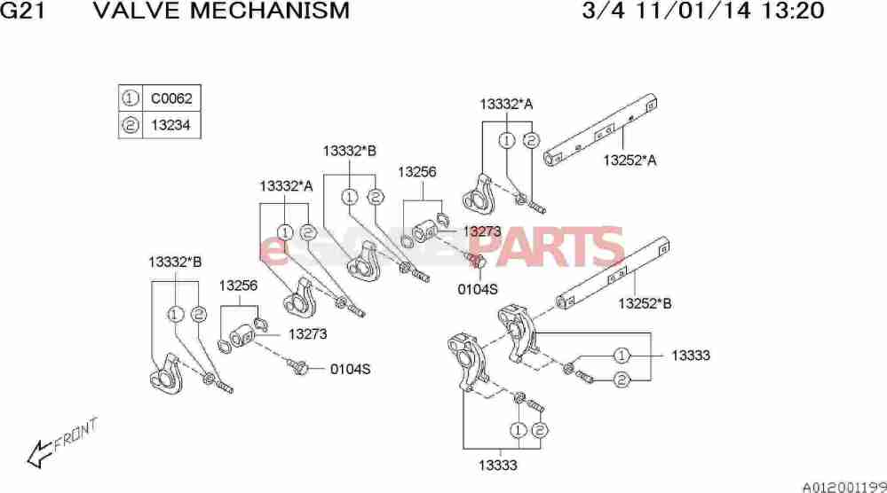 medium resolution of esaabparts com saab 9 2x engine parts engine internal valve mechanism valve rocker