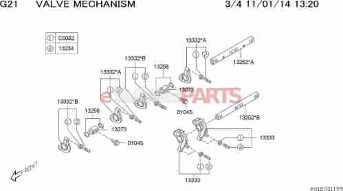 small resolution of esaabparts com saab 9 2x engine parts engine internal valve mechanism valve rocker