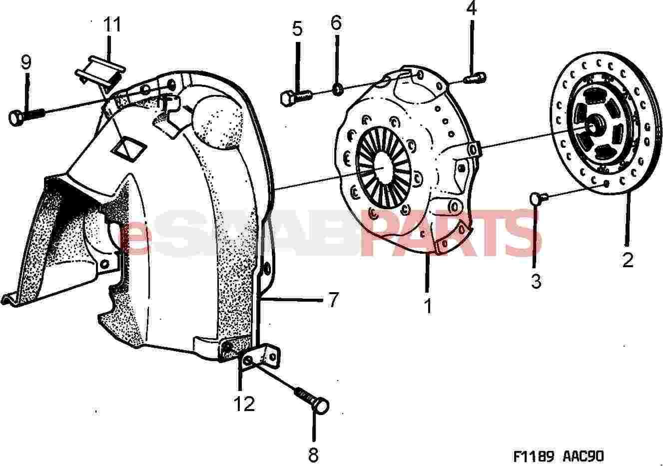 Saab Clutch Kit