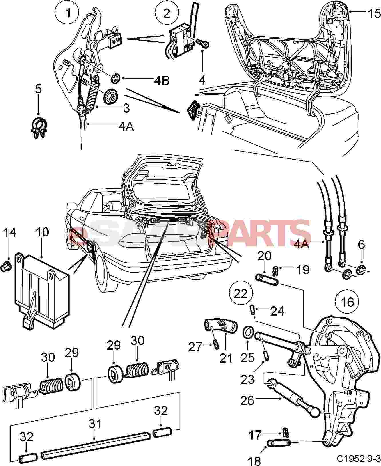 Saab 900 engine part diagram wiring diagram u2022 rh ch ionapp co 2004 saab convertible top diagram mercede sl500 convertible top diagram