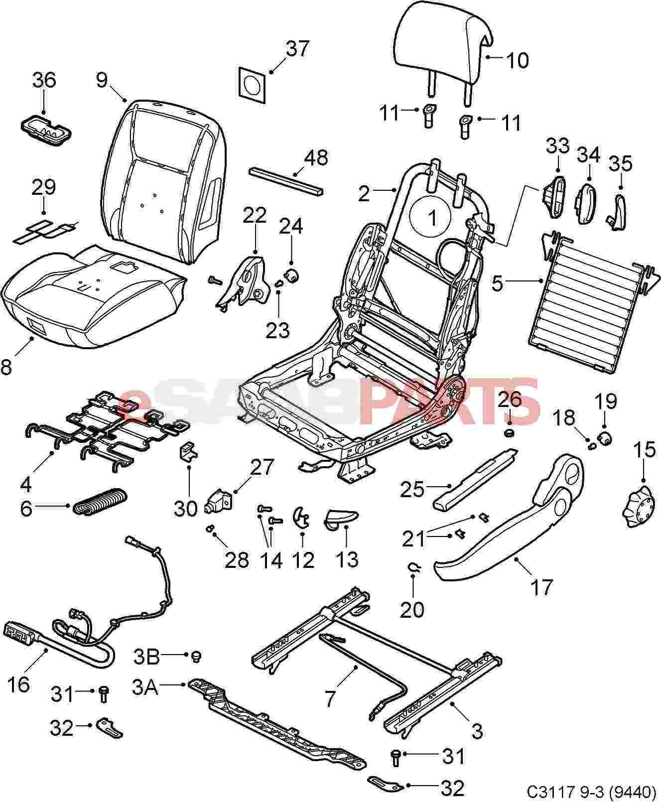 [WRG-8908] Air Bag Schematics Seat Sensor