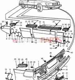 esaabparts com saab 900 car body external parts body mouldings external aero kit spg  [ 1293 x 1558 Pixel ]