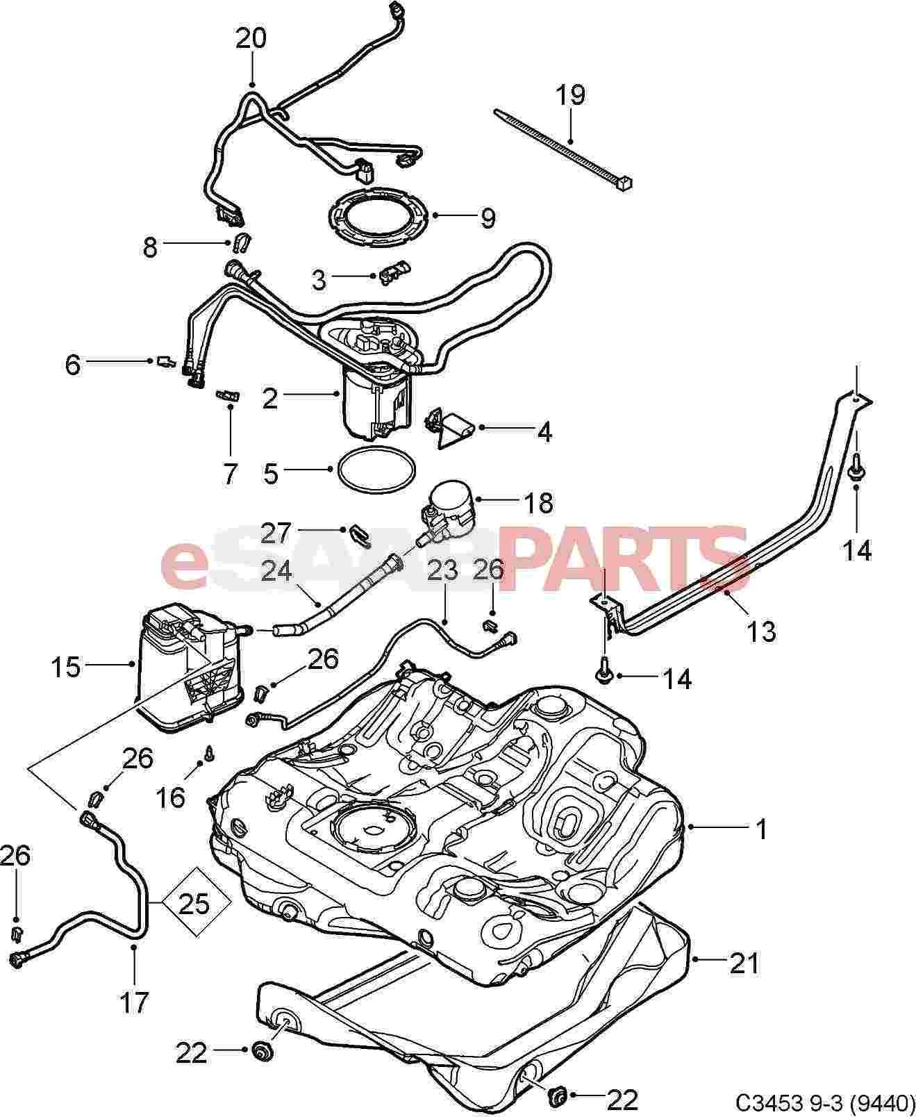 hight resolution of 99 saab 9 3 fuel tank diagram wiring diagram third level99 saab 9 3 fuel tank