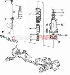 saab 9 5 rear suspension diagram [ 1295 x 1528 Pixel ]