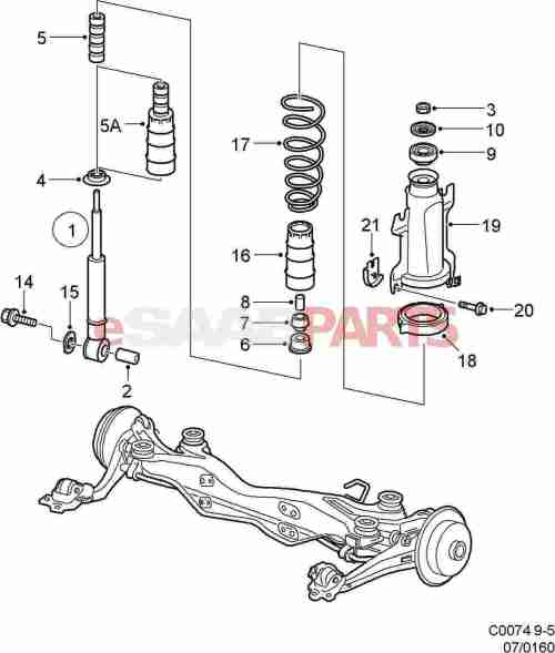 small resolution of 2002 saab 9 3 parts diagram wiring diagram schematics rh ksefanzone com saab 2 3 turbo engine diagram saab 9 3 parts diagram