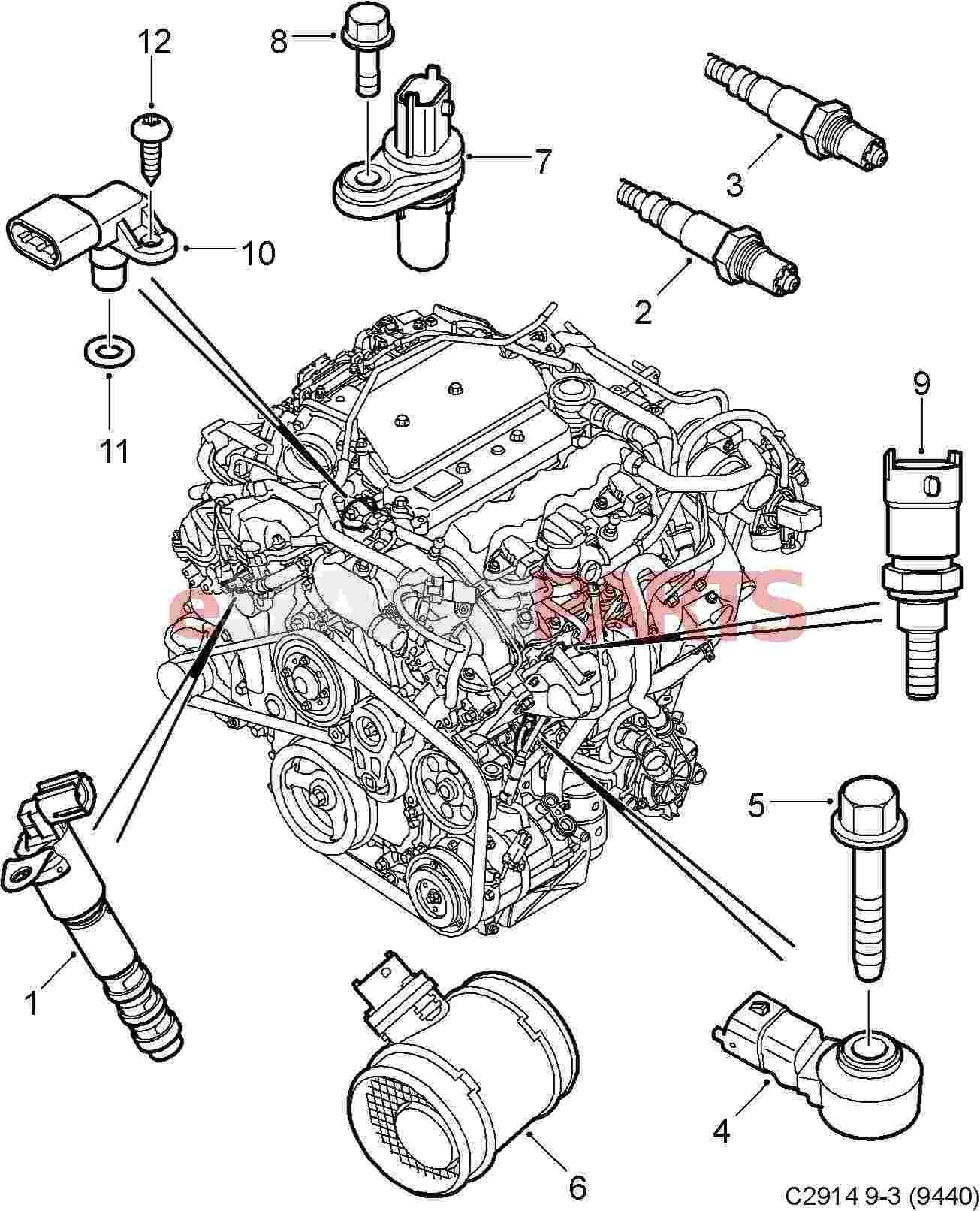 Free Download Saab 9 3 2003 Linear Wiring Diagram