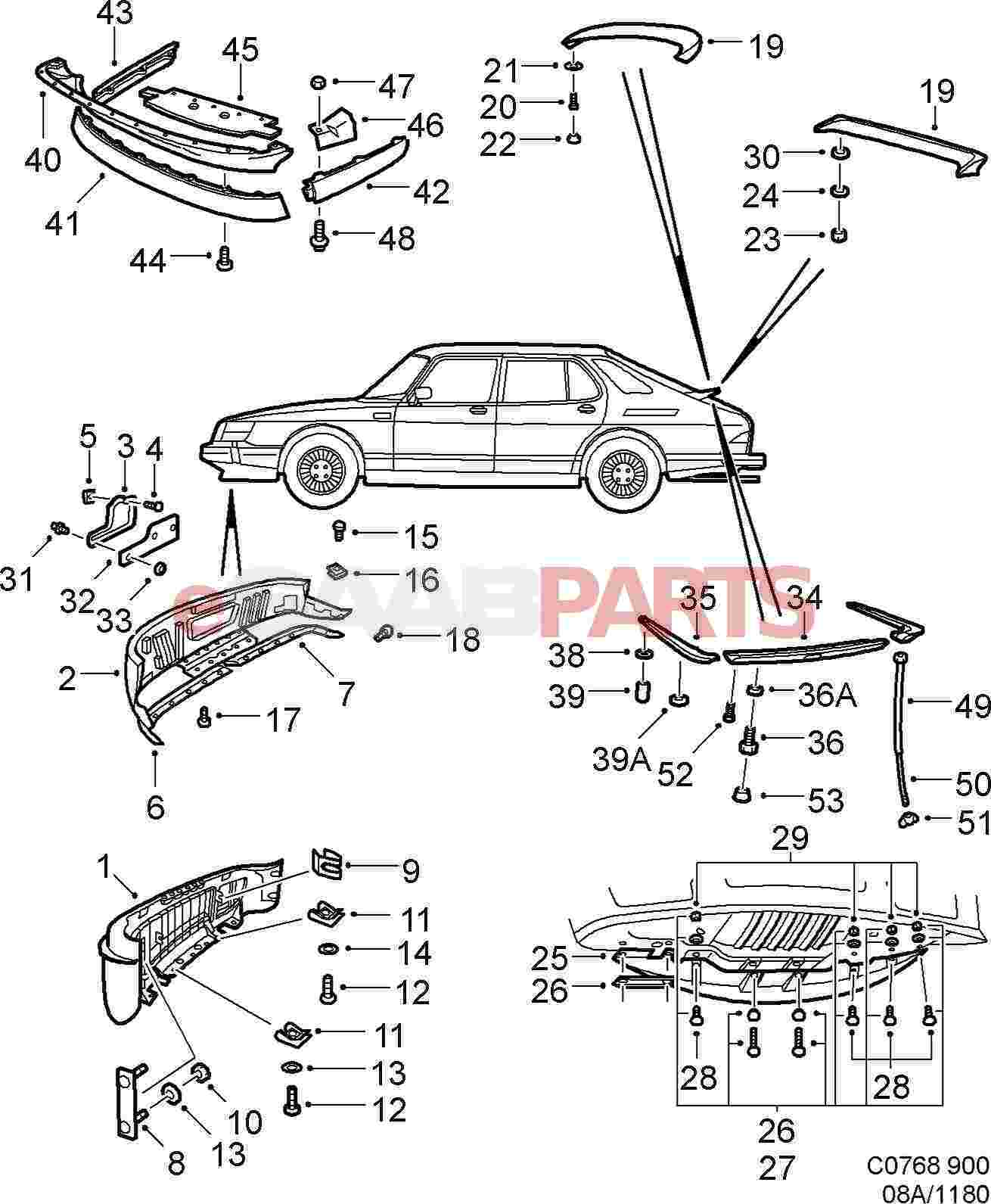Service manual [1996 Saab 900 Instructions For A Ignition