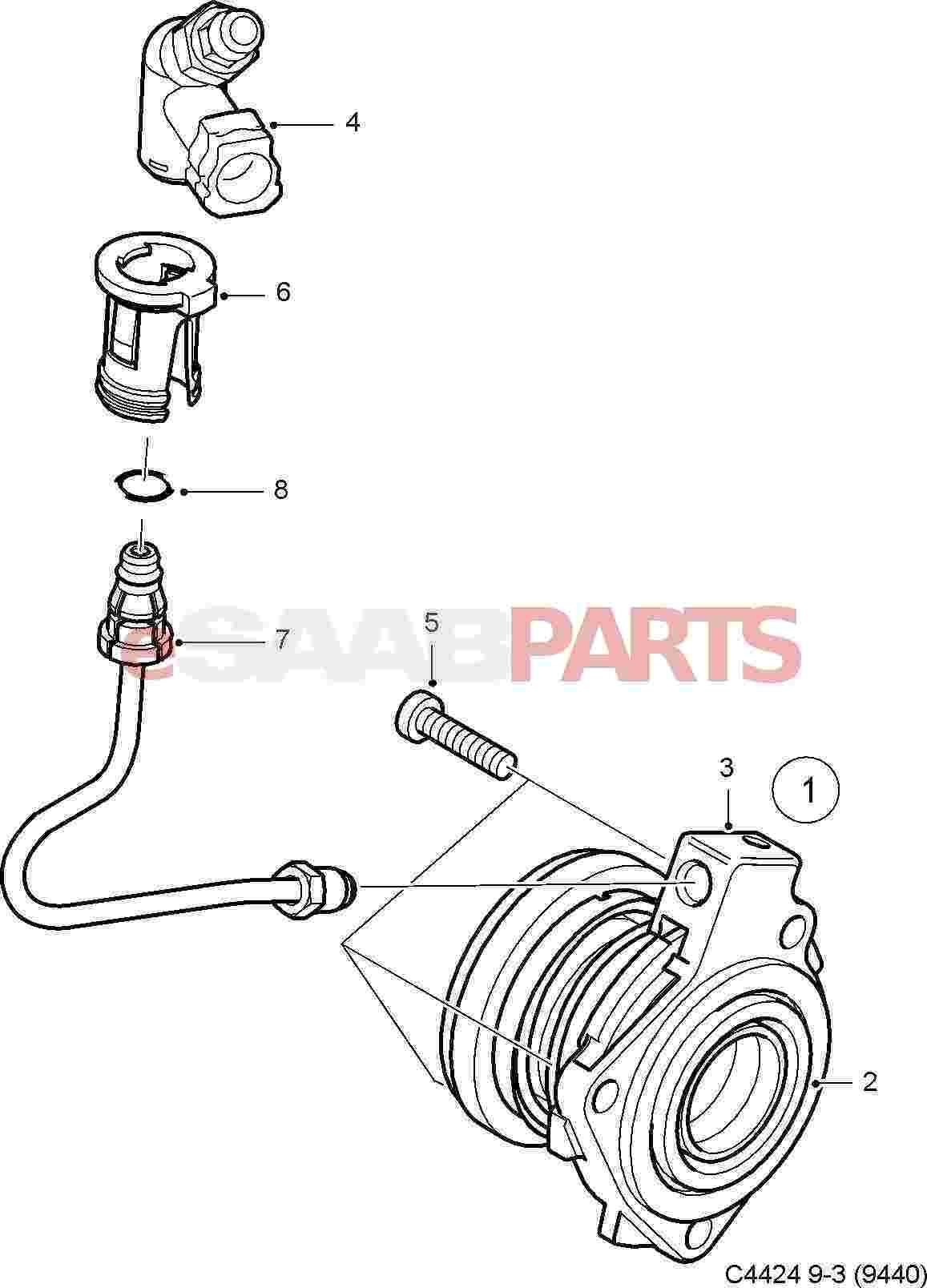 Saab Slave Cylinder