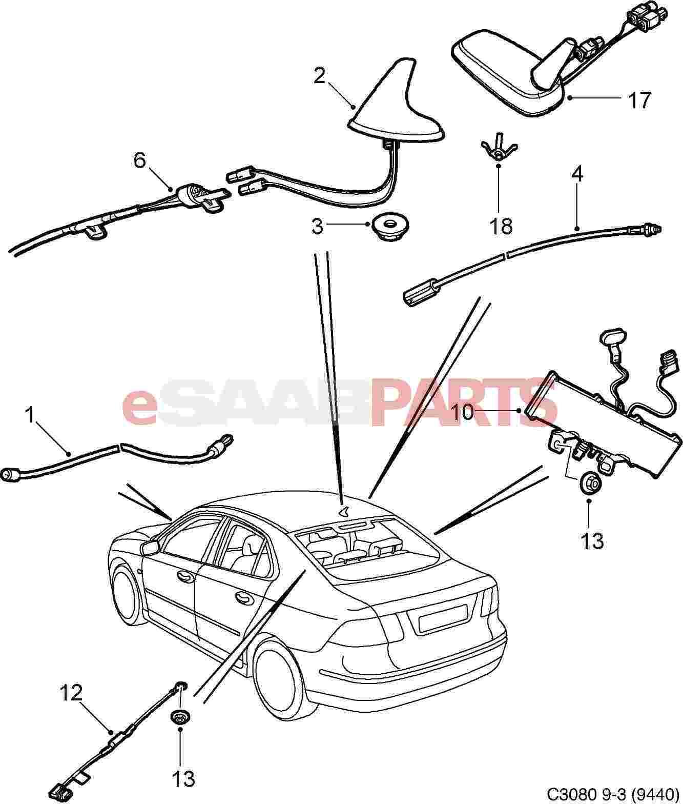 2003 saab 9 3 linear wiring diagram
