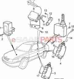 esaabparts com saab 900 car body external parts locks related [ 1240 x 1376 Pixel ]