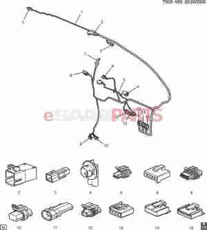 [12101874] SAAB Connector, Mdldr Lk Cont  Genuine Saab Parts from eSaabParts