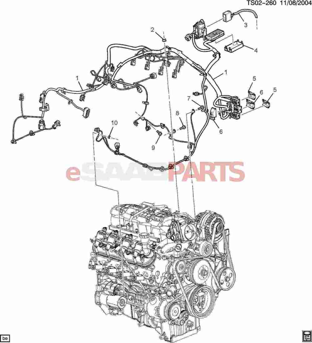 medium resolution of esaabparts com saab 9 7x u003e electrical parts u003e wiring harness howdy if