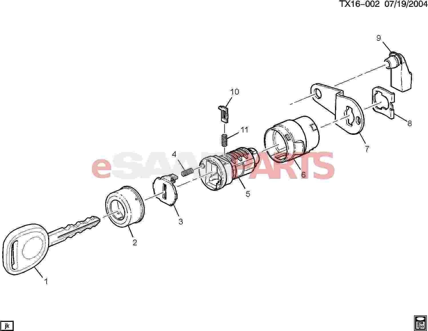hight resolution of  lock cylinder side door