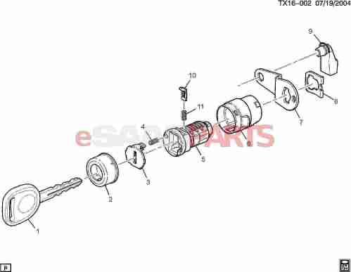 small resolution of  lock cylinder side door