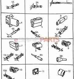 esaabparts com saab 900 electrical connector parts connectors all types connector housing etc [ 1384 x 2051 Pixel ]