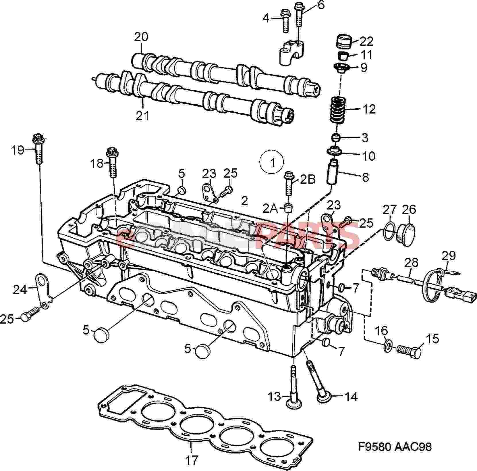 ej205 engine diagram