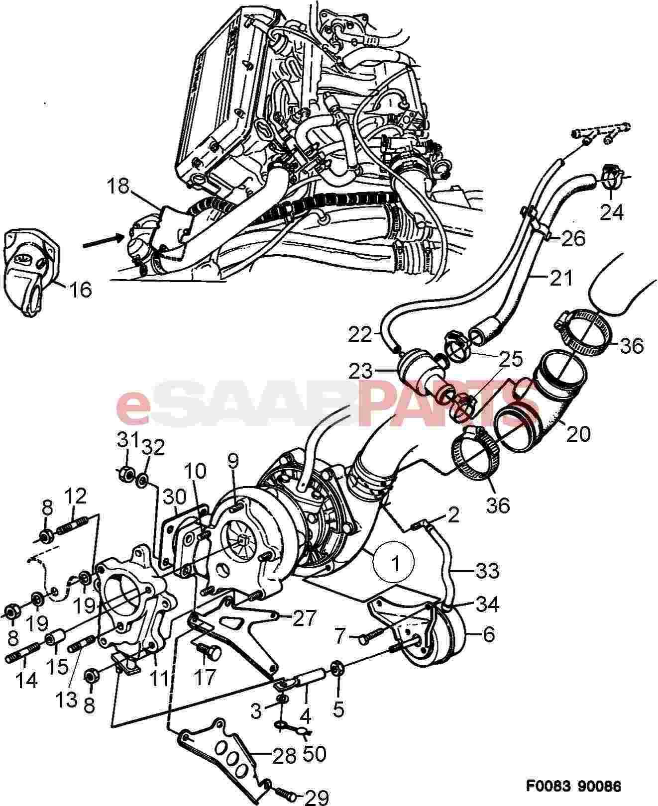 Saab Throttle Body
