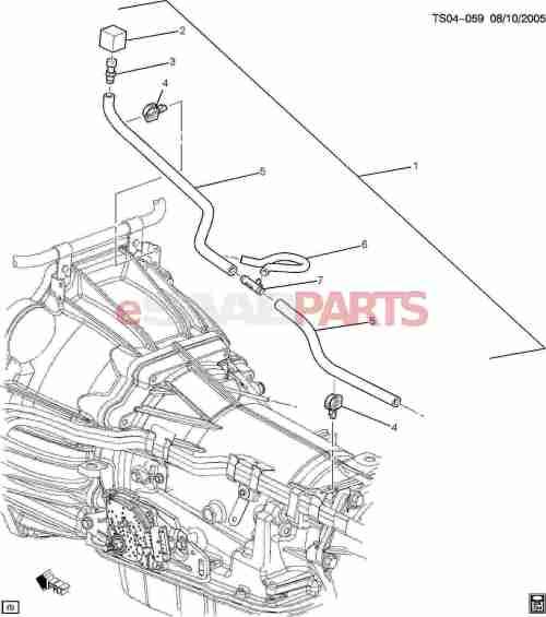 small resolution of esaabparts com saab 9 7x transmission parts transmission automatic parts transmission vent hose