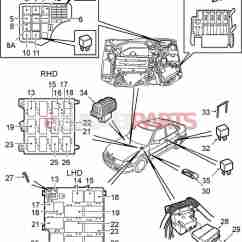 2001 Saab 9 3 Stereo Wiring Diagram Hid Prox Reader 90226846 Relay Genuine Parts From Esaabparts