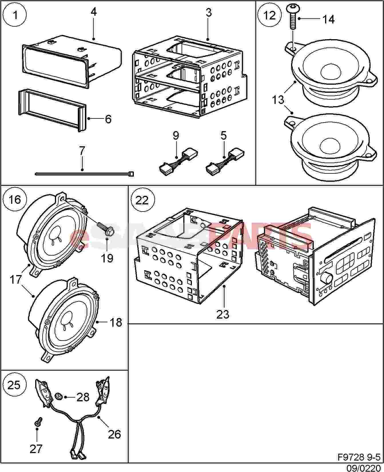Saab Steering Wheel Controls For Audio System