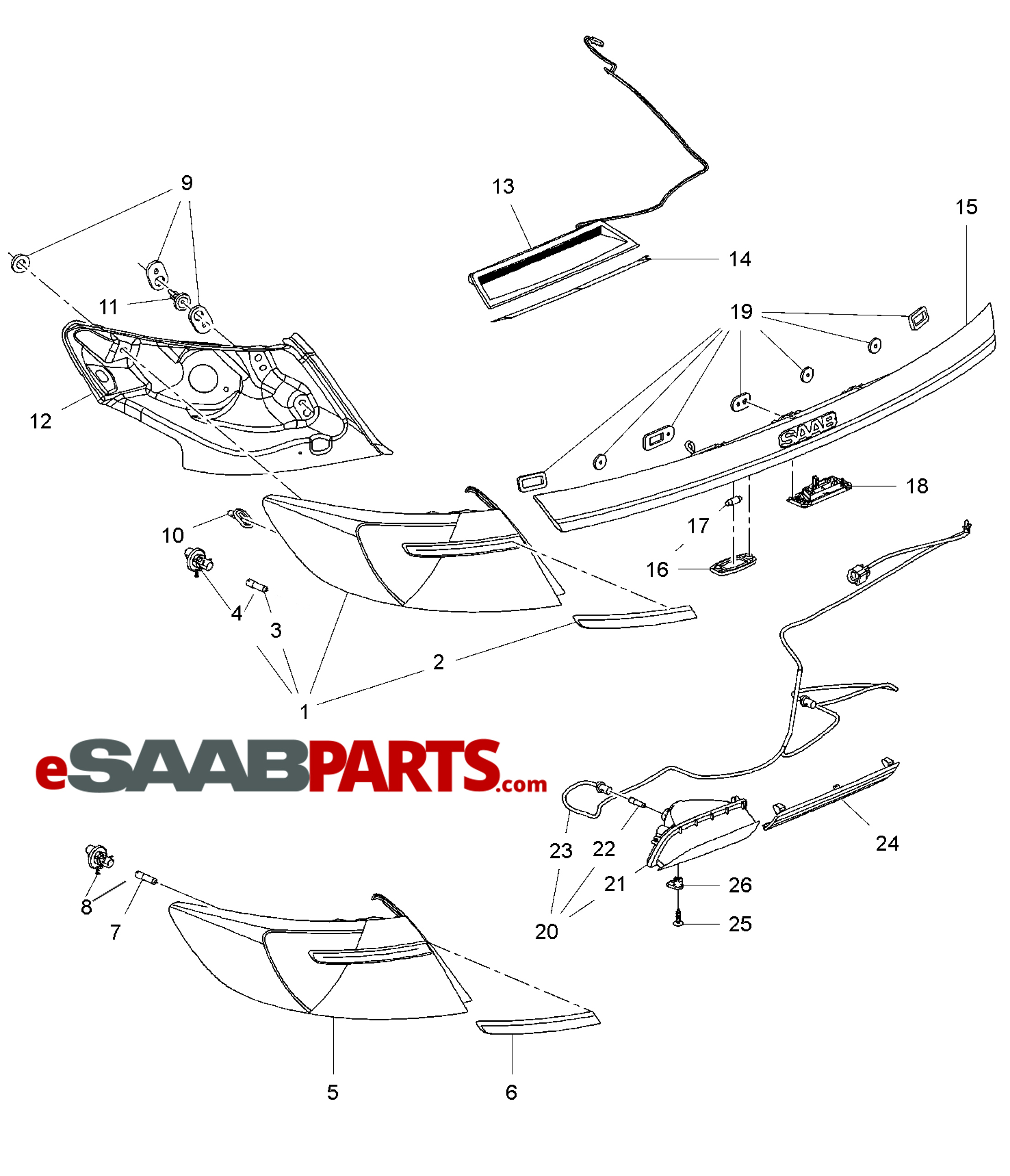honda odyssey exhaust system diagram lotus in water plant ford f engine auto wiring the saab v