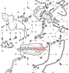 90490326 saab turbo stud genuine saab parts from esaabparts com rh esaabparts com 2002 saab 9 3 turbo engine diagram 2001 saab 9 3 turbo engine diagram [ 2029 x 2499 Pixel ]