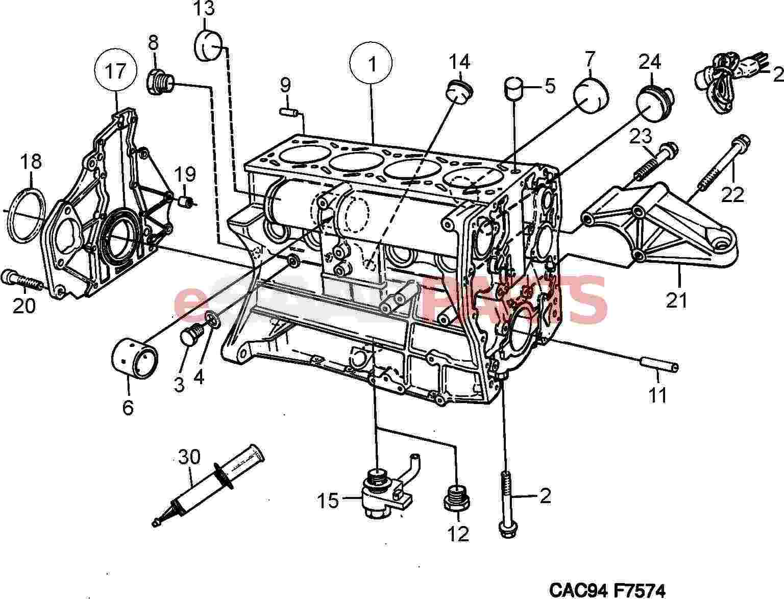 Saab Sealing Washer