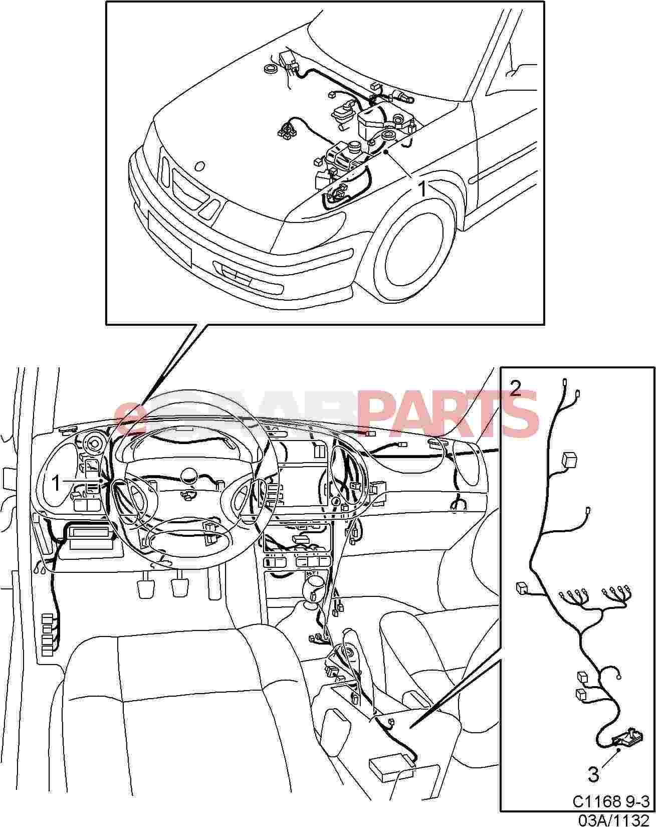 2002 Saab 9 3 Radio Wiring Diagrams - Wiring Diagrams  Saab Wiring Diagrams on