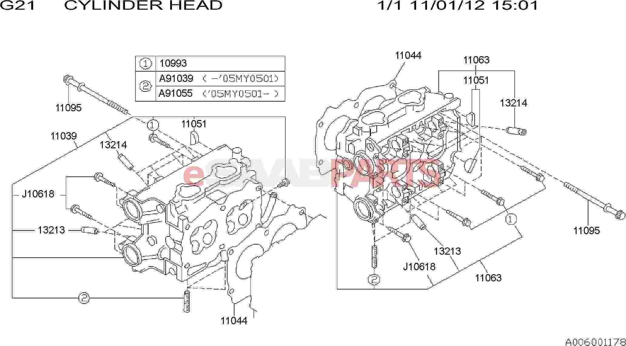 Saab Bolt Assembly Cylinder Head