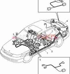 esaabparts com saab 9 5 9600 u003e electrical parts u003e wiring harness saab 9 5 wiring harness diagram [ 1331 x 1623 Pixel ]