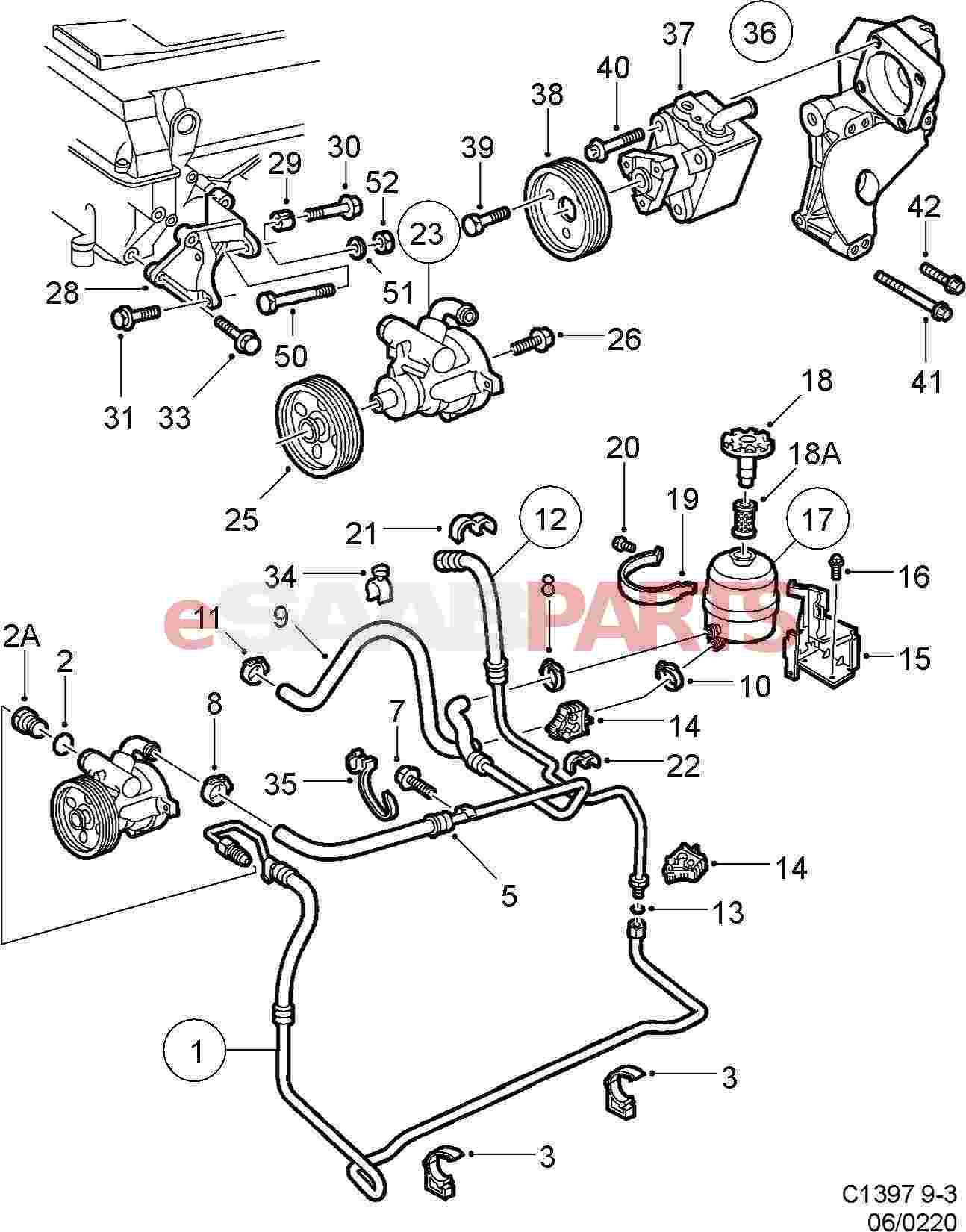 power steering parts diagram integra starter wiring 28 images