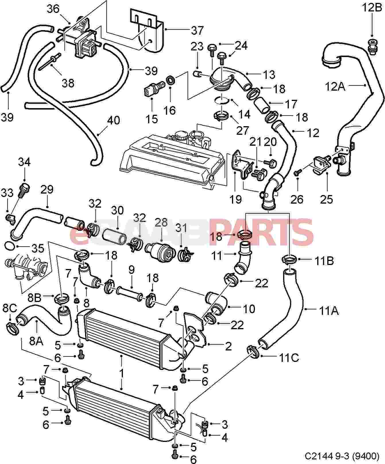 2001 Saab 9 3 Vacuum Diagram • Wiring Diagram For Free