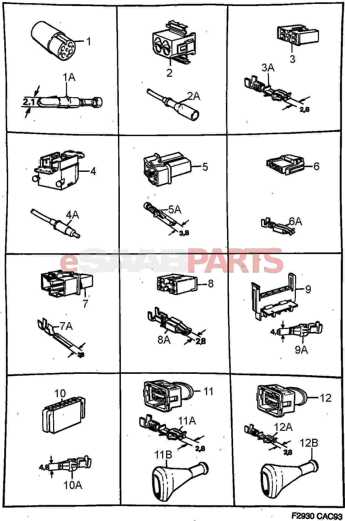 Types Of Harness Connector Auto Electrical Wiring Diagram Powerbass Subwoofer Ford F800 On Fuse Box 1996 Nissan Maxima Keyless Entry Fender Japan