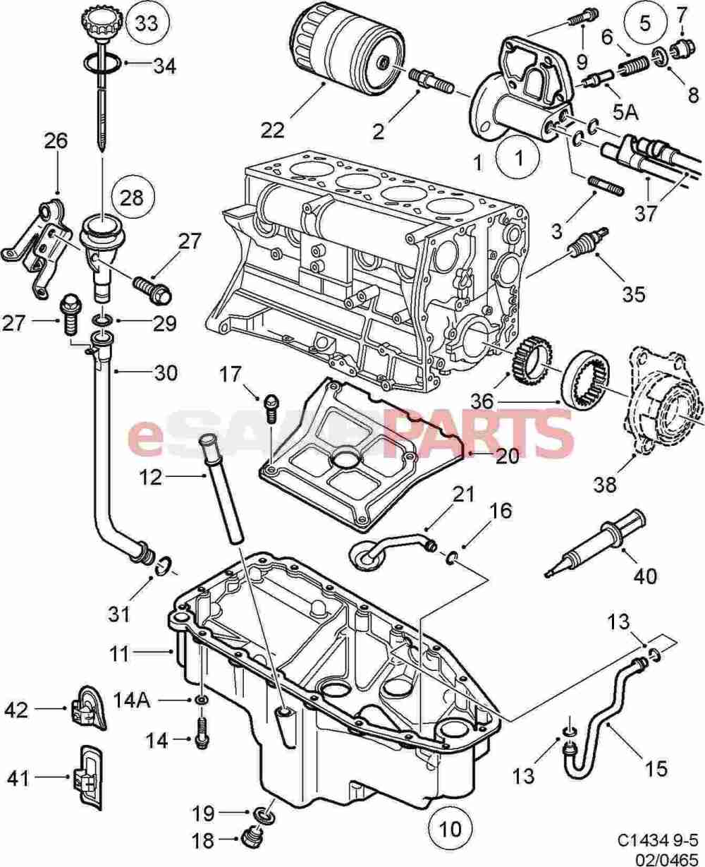 medium resolution of saab 2000 9 5 engine diagram oil wiring diagrams value saab 9 5 engine parts