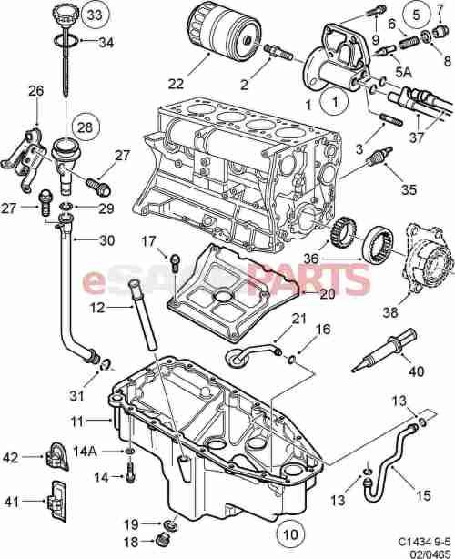 small resolution of saab 2000 9 5 engine diagram oil wiring diagrams value saab 9 5 engine parts