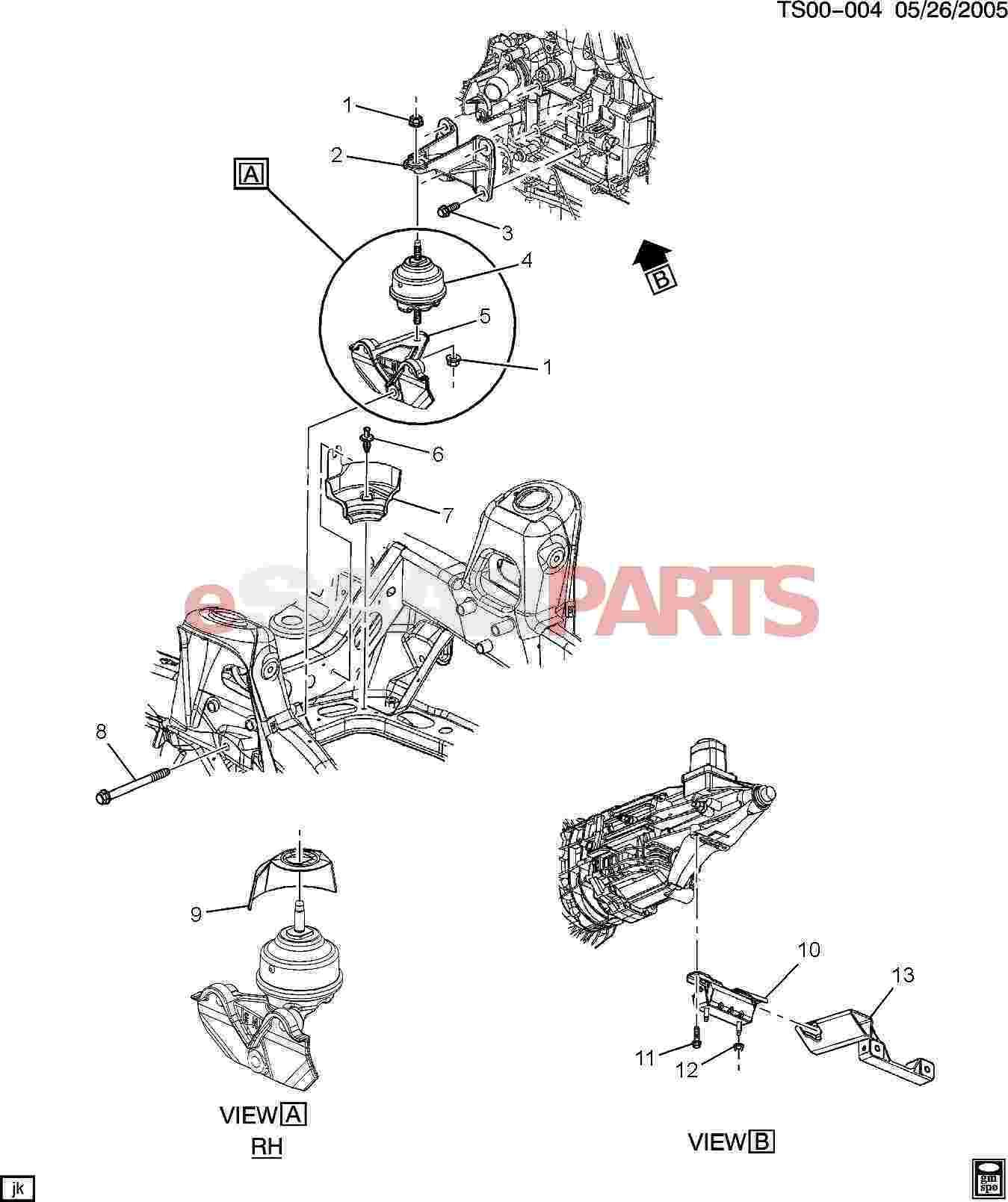 [11518388] SAAB Bolt, Transmission Manual Transmission